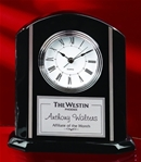 7¼ Lofstrand ClockA metal tone plate for engraving your logo and text. Call 800-830-3386 to buy now!
